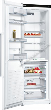 Frigorifico 1 puerta Bosch KSF36PW3P NoFrost Blanco 186cm A