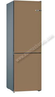 Frigorifico combi Bosch KVN39ICEA Marrón claro NoFrost 203cm