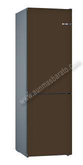 Frigorifico combi Bosch KVN39IDEA Marrón oscuro NoFrost 203cm