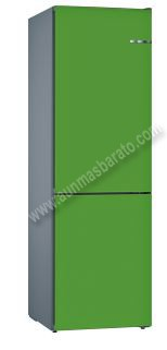 Frigorifico combi Bosch KVN39IJEA Verde menta NoFrost 203cm A