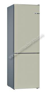 Frigorifico combi Bosch KVN39IKEC Gris Claro NoFrost 203cm