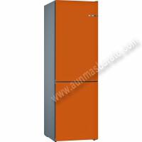 Frigorifico combi Bosch VarioStyle KVN39IO3A NoFrost Naranja 203cm A