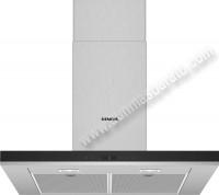 Campana decorativa Siemens LC77BHP50 70cm Inox y cristal negro