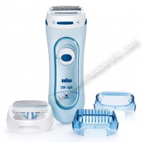 Depiladora Braun Lady Shaver 5160 Azul Silk-epil Wet Dry