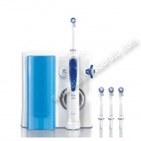 Irrigador dental Oxyjet Braun OralB MD20 Blanco y azul