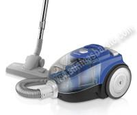 Aspirador sin bolsa Taurus MEGANE 3G ECO TURBO Negro y azul