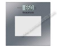 Bascula de bano Taurus MUNICH Electronica 150Kg Blanca e inox
