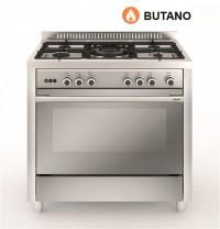Cocina Tradicional Vitrokitchen MX96IB 5 zonas gas Butano INOX