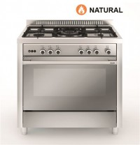Cocina Tradicional Vitrokitchen MX96IN 5 zonas gas Natural INOX