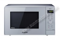 Microondas con grill Panasonic NNGD36HMSUG Plateado 23 Litros