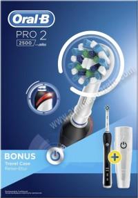 Cepillo de dientes electrico Braun OralB PRO2 2500 Negro