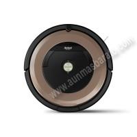 Robot Aspirador iRobot Roomba R966 Wifi Negro y marron
