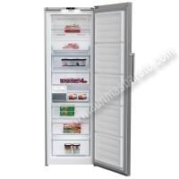 Congelador vertical Beko RFNE312I31PT NoFrost Inox 185cm A
