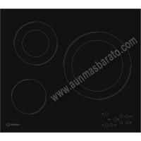 Vitroceramica Indesit RI 360 C 3 zonas 60cm