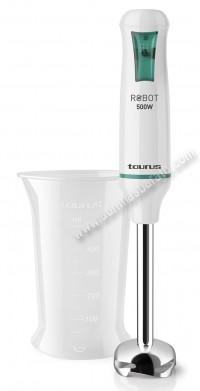 Batidora de mano Taurus Robot500Inox 500W Blanca e inox