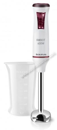 Batidora de mano Taurus Robot600Inox 600W Blanca e inox