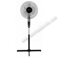 Ventilador de pie Orbegozo SF0148 Negro 3 velocidades