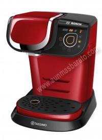 Cafetera Multibebida Bosch TAS6003 Tassimo Roja
