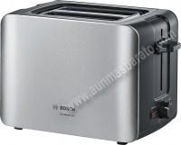 Tostador 2 ranuras Bosch TAT6A913 ComfortLine Inox y negro