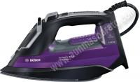 Plancha de vapor Bosch TDA753122V 3100W Negro y lila