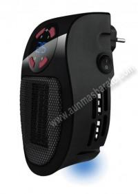 Calefactor mini Taurus Tropicano Plug Heater 500W Negro