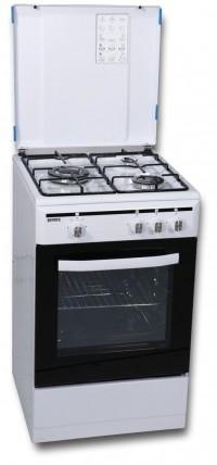 Cocina de gas Rommer VCH350FGNAT 3 fuegos Blanco
