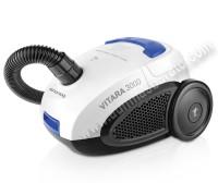 Aspirador con bolsa Taurus VITARA 3000 Blanco negro y azul