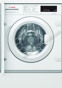 Lavadora Integrable Bosch WIW28301ES 8Kg 1400rpm Blanca A